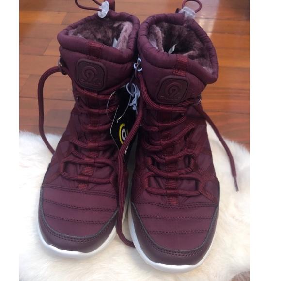 f5b72bf00b19f Maroon Champion Sneaker Boots